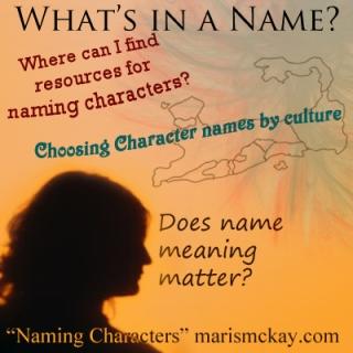 """Naming Characters"" marismckay.com"