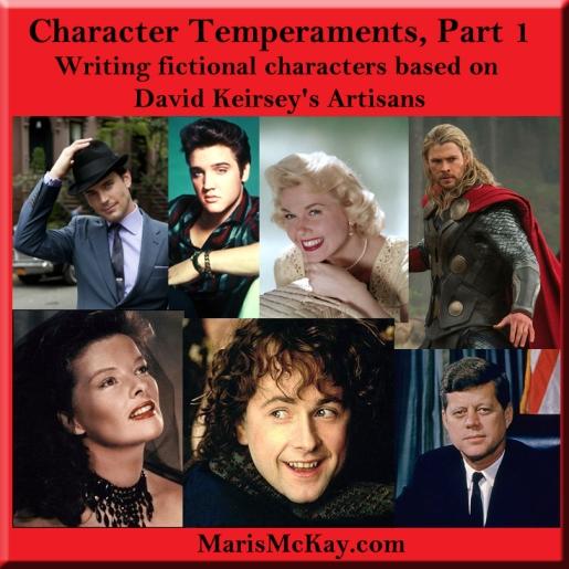 David Keirsey's Artisans. marismckay.com