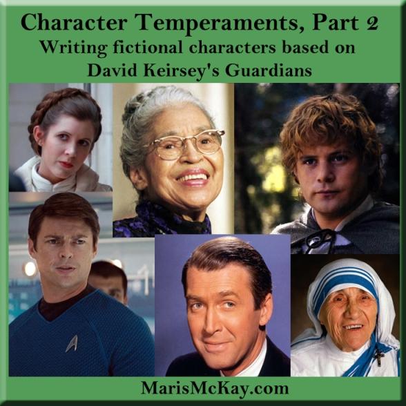 David Keirsey's Guardians. marismckay.com