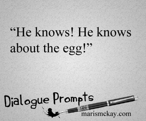 Dialogue prompts -marismckay.wordpress.com