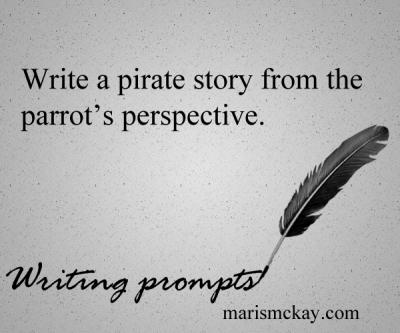 Writing prompts -marismckay.wordpress.com
