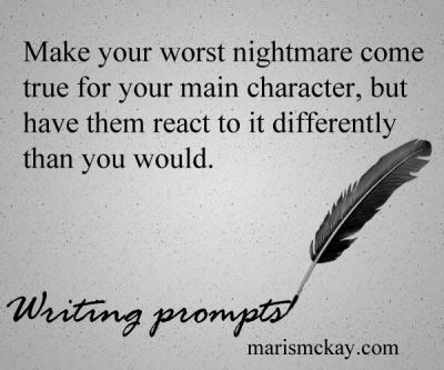 Writing prompts - marismckay.wordpress.com