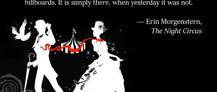 "Book Review ""The Night Circus"" for #FlightsofFantasy marismckay.com"