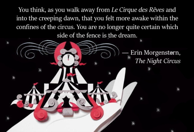 "Book Review ""The Night Circus"" for #FlightsofFantasy marismckay.com"