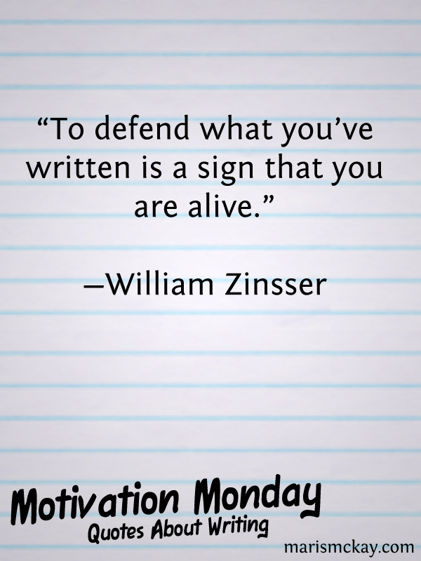Quotes About Writing   MarisMcKay.com