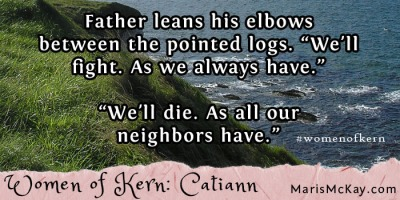 "Read more of Catiann's story in the new fantasy collection ""Women of Kern"" from Maris McKay https://amazon.com/author/marismckay"