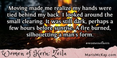 "Read more of Zeila's story in the new fantasy collection ""Women of Kern"" from Maris McKay https://amazon.com/author/marismckay"